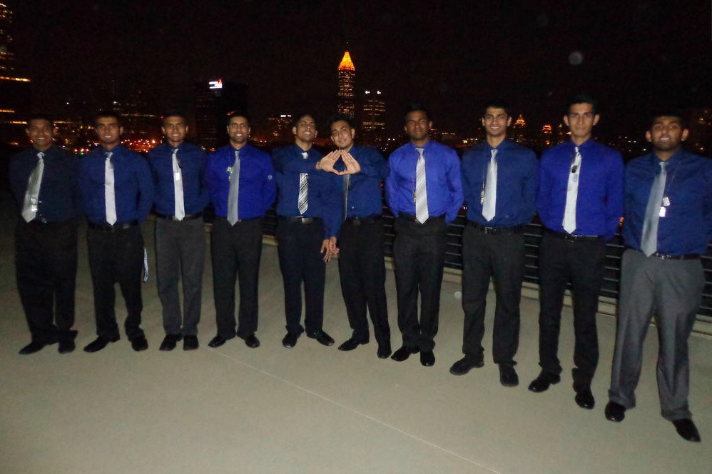 Alpha Gamma Chapter Brothers